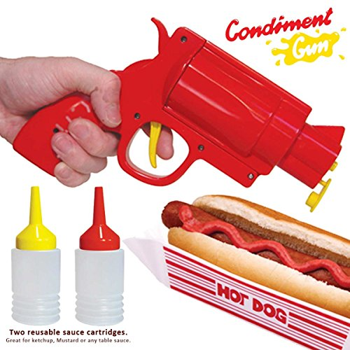 Condiment Gun Picnic Party Great For Bbq. Ketchup, Mustard Or Sauce