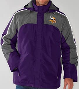Minnesota Vikings NFL Defense Systems 3-in-1 Heavyweight Performance Jacket by G-III Sports