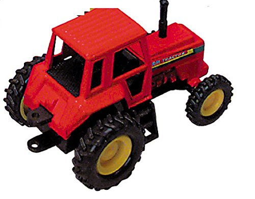 Tractor- Die Cast Metal - Pull Back and Go - (RED) - 1