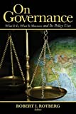 img - for On Governance: What It Is, What It Measures and Its Policy Uses book / textbook / text book