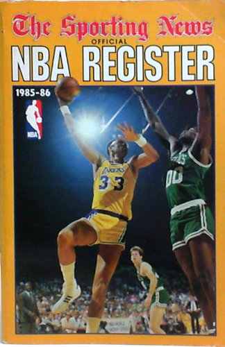 NBA Register 85-86