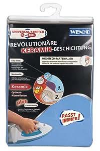 Wenko 1160993100 Housse de Repassage Universelle Céramique Bleu