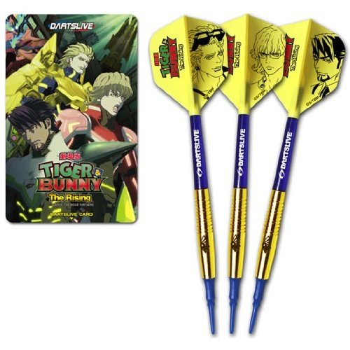 Limited Edition TIGER & BUNNY darts live Original Darts Set Golden Ryan model