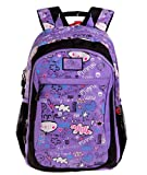 Disney Mickey Mouse Cute Child Backpack 12.1x5.9x17.9(Purple)