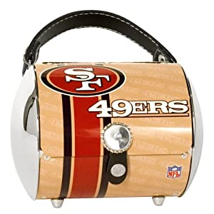 San Francisco 49ers Super Cyclone Purse by Pro-FAN-ity Littlearth