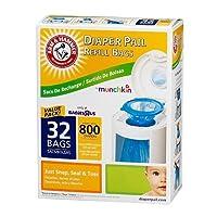 Arm & Hammer Diaper Pail Refills - 32 Pack by Munchkin