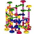 Circuit de billes - Toboggan � billes 111 pi�ces - 36 billes en verre incluses - jeu educatif construction eveil enfant