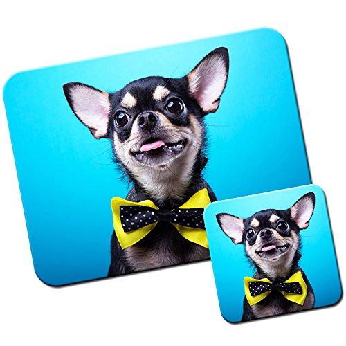 chihuahua-mexicain-taco-bell-pour-chien-tapis-de-souris-et-dessous-de-verre-chihuahua-wears-yellow-b