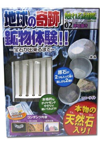 【触れる図鑑】vol.2 原石磨き
