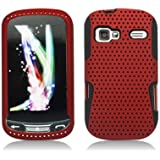 Aimo Wireless LGLM272PCPA003 Hybrid Armor Cheeze Case for LG Rumor Reflex/Freedom/Converse/Expression C395 - Retail Packaging - Red