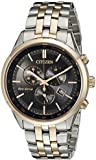 Citizen Men's Sapphire Collection AT2146-59E Wrist Watches, Black Dial