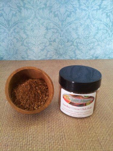 Smokey Cocoa Chili Rub - 4 Oz Jar