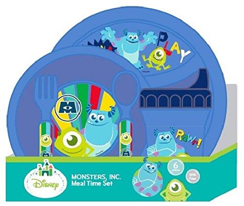 [Disney Monsters Inc. Feeding Set] (Baby In Monsters Inc)
