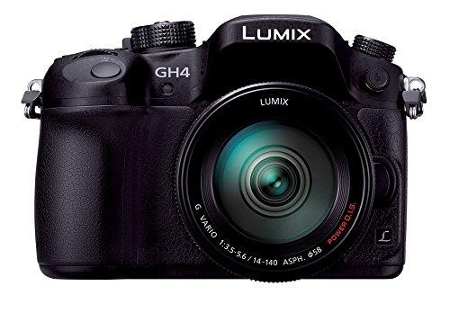Panasonic ミラーレス一眼 ルミックス GH4 レンズキット 標準ズームレンズ付属 ブラック DMC-GH4H-K