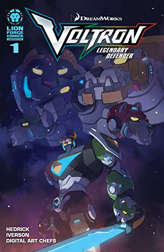 Voltron: Legendary Defender #1 (of 4)