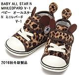 CONVERSE(コンバース) BABY ALL STAR N MINILEOPARD V-1 ベビー オールスター N ミニレパード V-1 2016年秋冬新製品 (14.5)