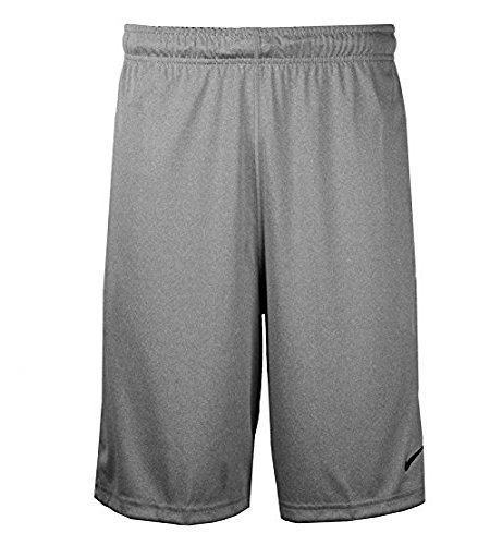 Nike Mens FLY 2.0 Training Shorts Dark Grey Heather/Black Size Medium