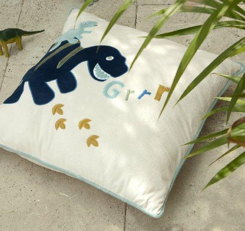 Catherine Lansfield Kids Dino Cushion Cover, Multi