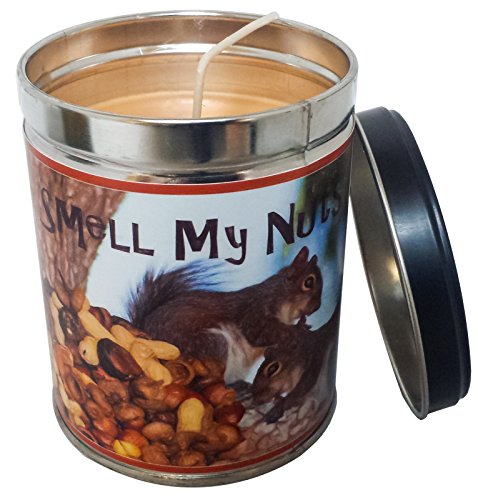 Banana Nut Bread Scented Candle in 13 Ounce Tin with a Smell my Nuts Label By Our Own Candle Company (Bread Scented Candles compare prices)