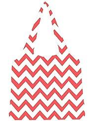 Snoogg Wave Print Womens Jhola Shape Tote Bag