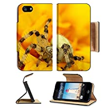 buy Apple Iphone 5 Iphone 5S Flip Case Spider In Yellow Image 24210278 By Msd Customized Premium Deluxe Pu Leather Generation Accessories Hd Wifi Luxury Protector