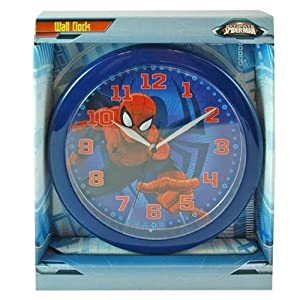 Spiderman Wall Clock Marvel Ultimate Spiderman by Marvel