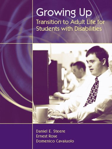 Growing Up: Transition to Adult Life for Students with...