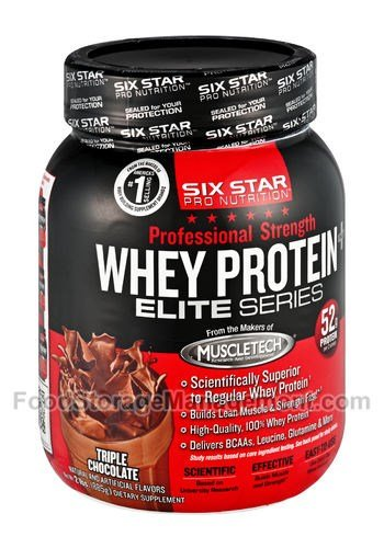 Six Star PS Whey Protein 2lb  Pwd -Triple Chocolate