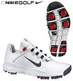 Nike Golf Men's Nike TW 13 Wide Golf Shoe,White/Varsity Red/Jetstream/Anthracite,10.5 W US
