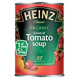 Heinz Classic Organic Cream of Tomato Soup 400 g (Pack of 12)