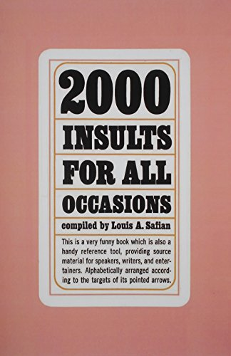2000 Insults