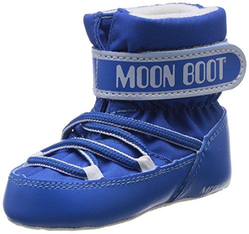 Moon Boot Crib, Scarpe per bambini, Unisex - bambino, Blu (Blu Chiaro), 19/20