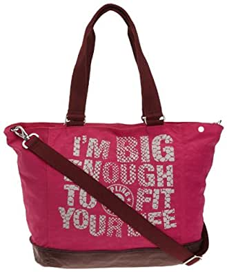 Kipling Women's Shopper Combo N Shoulder Bag K12274239 Very Berry M
