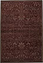 Hot Sale Rizzy Rugs SO-3154 9-Foot-10-Inch-by-12-Foot-10-Inch Sorrento Area Rug, Transitional Burgundy
