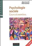 echange, troc Alain Cerclé, Alain Somat - Psychologie sociale : Cours et exercices