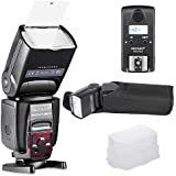 Neewer NW570 MASTER & SLAVE Wireless Flash with Built-in 2.4G Trigger System , Speedlite for Canon Nikon Panasonic Olympus Fujifilm Pentax Sigma Minolta Leica and Other D-SLR Digital Cameras