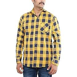 Oshano Men's Up to date Cotton Shirt