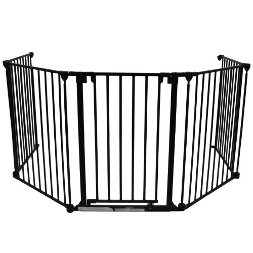 baby-vivo-barriere-parc-en-metal-parefeu-securite-enfant-en-noir