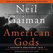 Cover for American Gods 10th Anniversary Audiobook