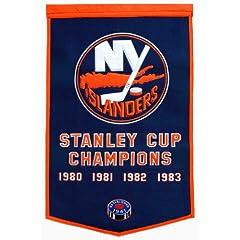 Buy Winning Streak New York Islanders Dynasty Banner by Winning Streak