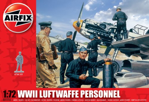 Airfix A01755 1:72 Scale Luftwaffe Personnel
