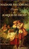 L'histoire du marquis de Cressy par Riccoboni
