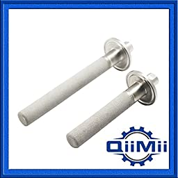 Stainless Carbonation Stone 1/4 Inch NPT Female Thread 4\