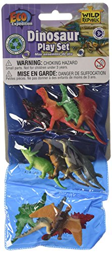 12 Piece Assorted Dinosaur Playset