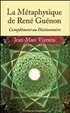 La Métaphysique de René Guénon