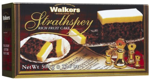 Walkers Strathspey Rich Fruit Cake - 17.3oz