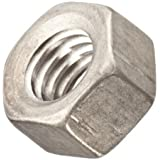 Titanium Hex Nut, Grade 2, Right Hand Threads, Meets ASME B18.2.2, Inch