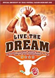 echange, troc Live the Dream: The Texas Longhorns Magical March [Import USA Zone 1]