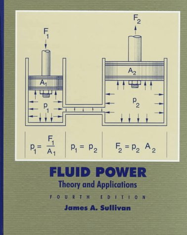 Fluid Power: Theory and Applications (4th Edition), by James Sullivan