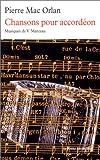 echange, troc Pierre Mac Orlan - Chansons pour accordéon